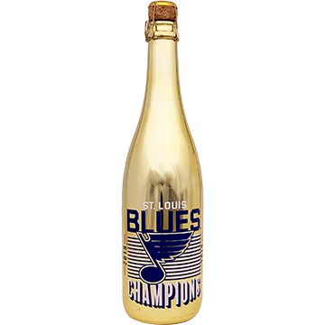 St. Louis Blues 2019 Champions Metallic Gold Bubbly
