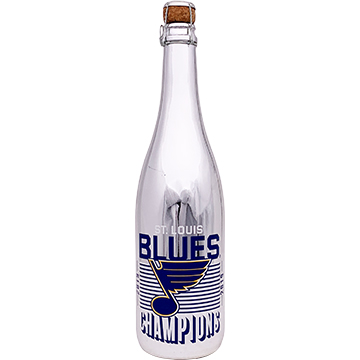 St. Louis Blues 2019 Champions Metallic Silver Bubbly