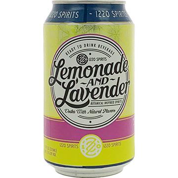 1220 Spirits Lemonade & Lavender