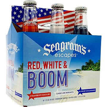 Seagram's Escapes Red, White & Boom