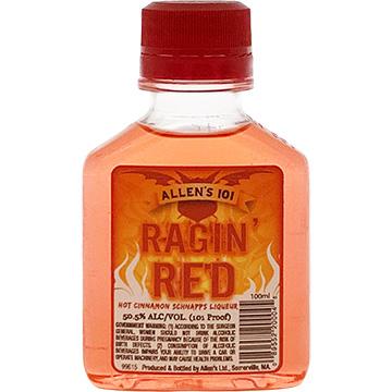 Allen's Ragin' Red Hot Cinnamon Schnapps Liqueur