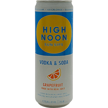 High Noon Sun Sips Grapefruit Vodka & Soda