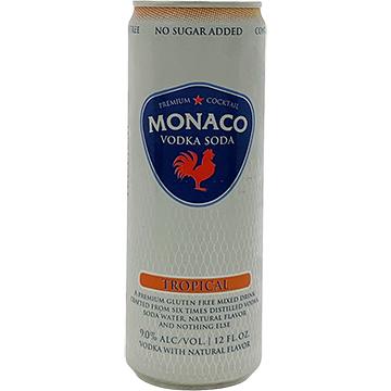 Monaco Tropical Vodka Soda