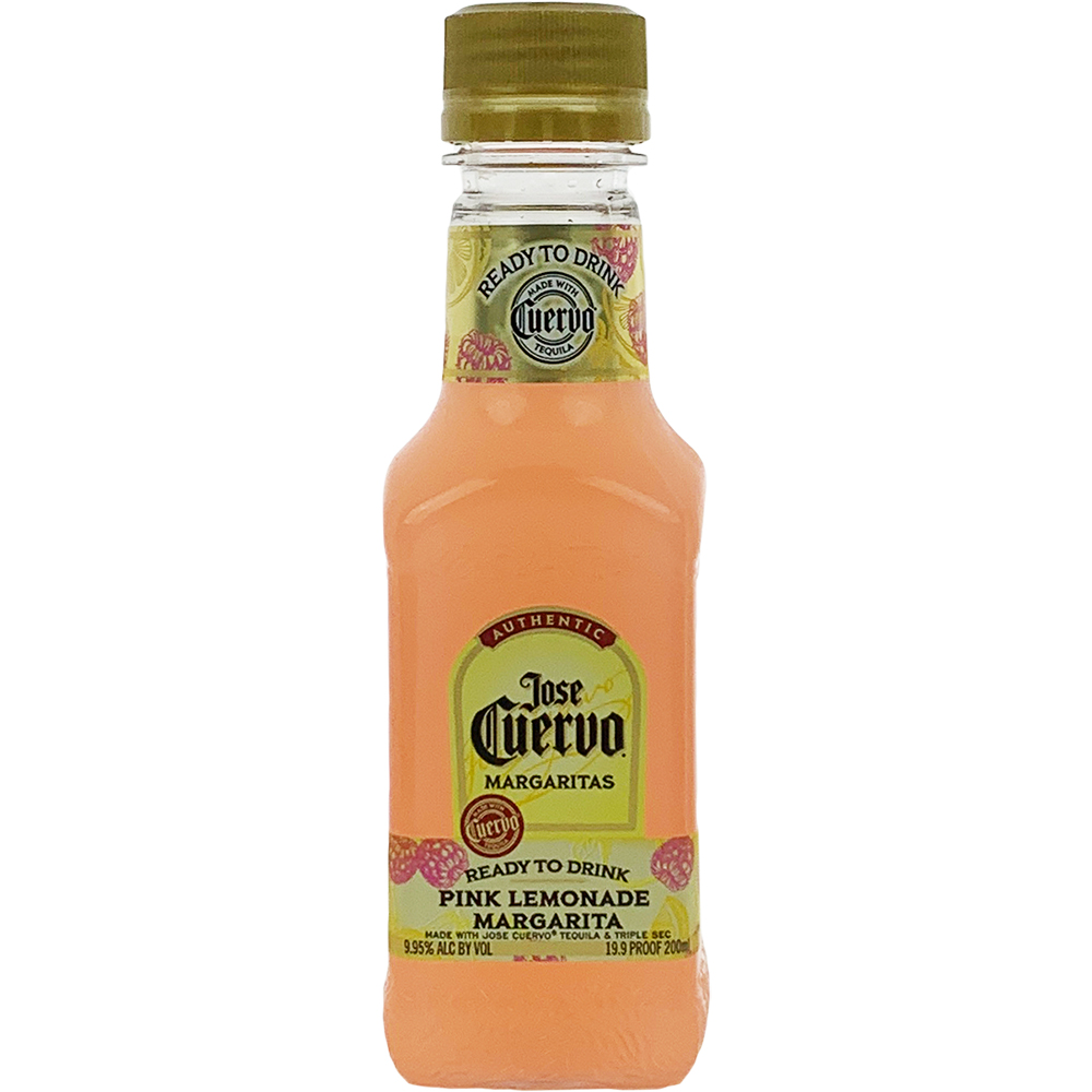 Jose Cuervo Ready To Drink Pink Lemonade Margarita 1 75l: Jose Cuervo Authentic Pink Lemonade Margarita 200ml Bottle