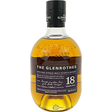 The Glenrothes 18 Year Old Speyside Single Malt Scotch Whiskey