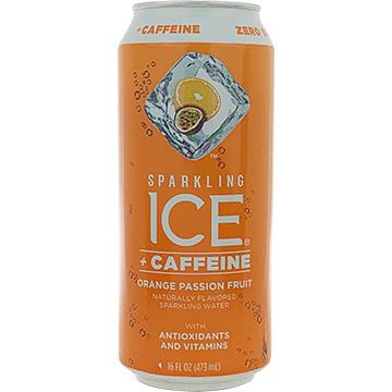 Sparkling Ice + Caffeine Orange Passion Fruit Sparkling Water
