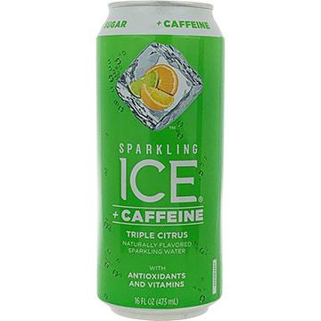 Sparkling Ice + Caffeine Triple Citrus Sparkling Water