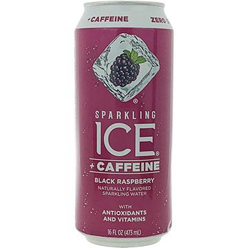 Sparkling Ice + Caffeine Black Raspberry Sparkling Water
