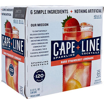 Cape Line Strawberry Lemonade