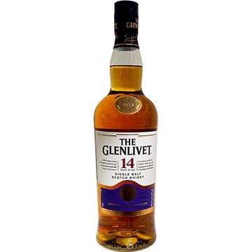 The Glenlivet 14 Year Old Cognac Cask Selection Single Malt Scotch Whiskey