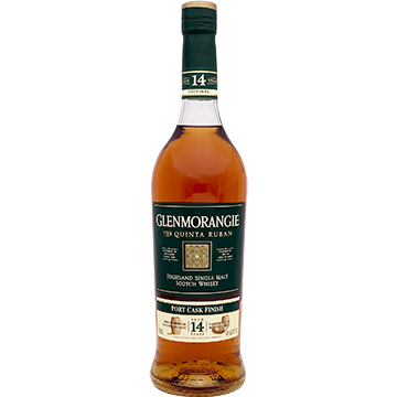 Glenmorangie The Quinta Ruban 14 Year Old Single Malt Scotch Whiskey