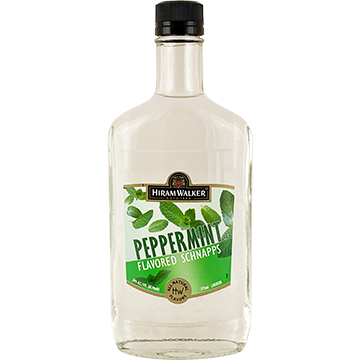 Hiram Walker 60 Proof Peppermint Schnapps Liqueur