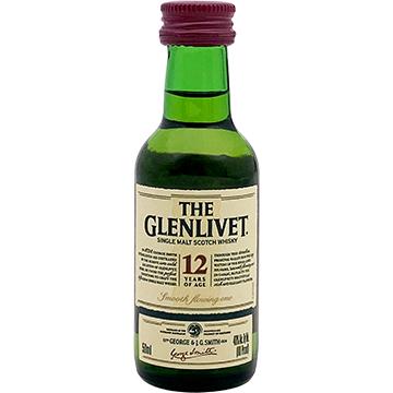 The Glenlivet 12 Year Old Single Malt Scotch Whiskey