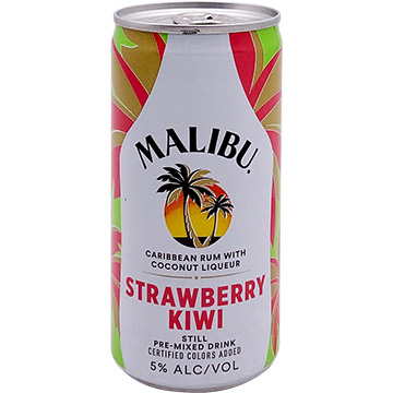 Malibu Strawberry Kiwi Cocktail