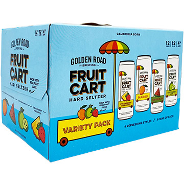 Golden Road Fruit Cart Hard Seltzer Variety Pack