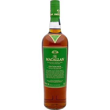 The Macallan Edition No. 4 Highland Single Malt Scotch Whiskey