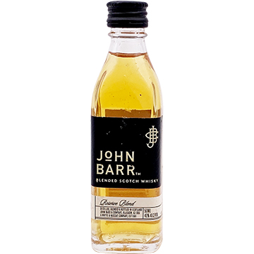 John Barr Black Reserve Blend Blended Scotch Whiskey
