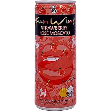 Friends Fun Wine Strawberry Rose Moscato