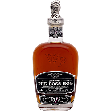WhistlePig The Boss Hog Fifth Edition The Spirit of Mauve Rye Whiskey