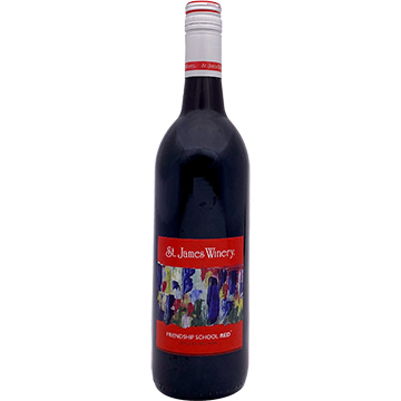 St. James Winery Friendship School Red