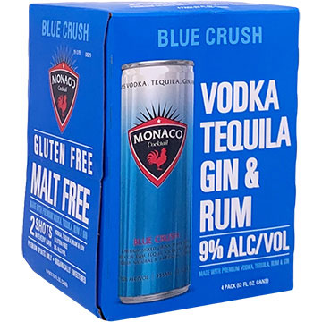 Monaco Blue Crush Cocktail
