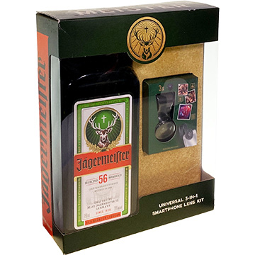 Jagermeister with Smartphone Lens Kit