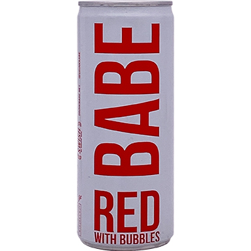 BABE Red With Bubbles