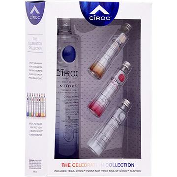 Ciroc Vodka Celebration Collection Gift Set with Three 50ml Miniature