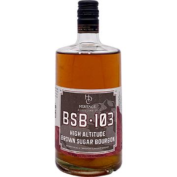 Heritage Distilling 103 Proof Brown Sugar Bourbon Whiskey