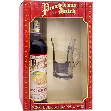 Pennsylvania Dutch Root Beer Schnapps Liqueur Gift Set with Mug