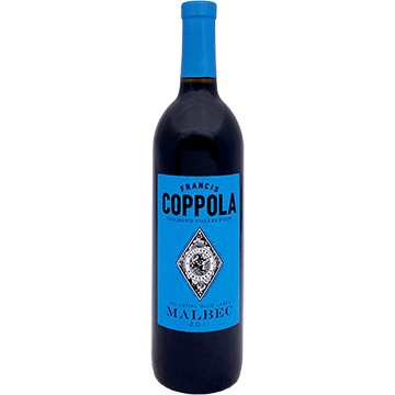 Francis Coppola Diamond Collection Celestial Blue Label Malbec 2011