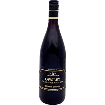 Sonoma-Cutrer Winemaker's Release Owsley Single Block Pinot Noir 2014