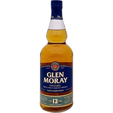 Glen Moray Elgin Heritage 12 Year Old Speyside Single Malt Scotch Whiskey