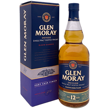 Glen Moray Elgin Classic Port Cask Finish Speyside Single Malt Scotch Whiskey