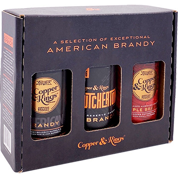 Copper & Kings American Brandy Collection Gift Set