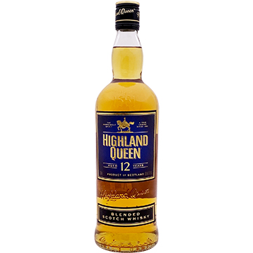 The Highland Queen 12 Year Old Blended Scotch Whiskey