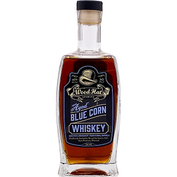 Wood Hat Aged Blue Corn Whiskey