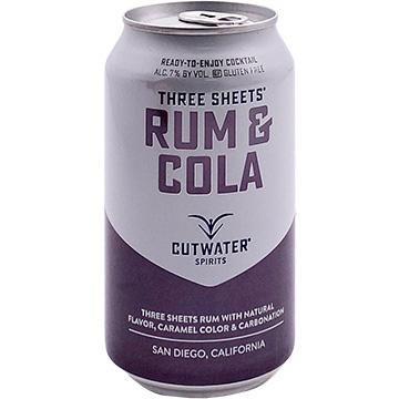 Cutwater Rum & Cola