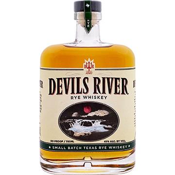 Devils River Small Batch Texas Rye Whiskey