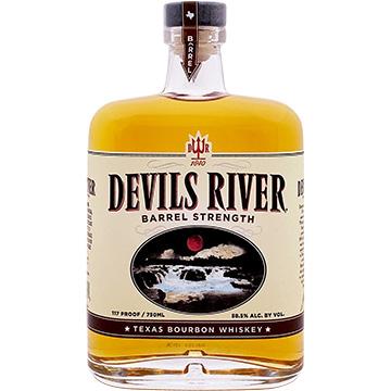 Devils River Barrel Strength Texas Bourbon Whiskey