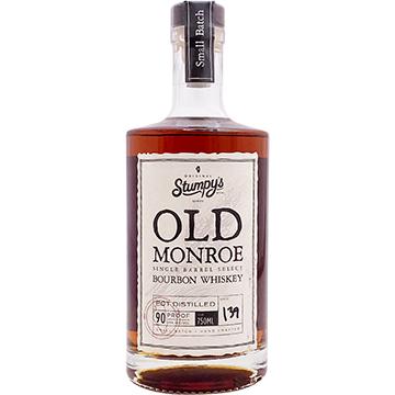 Stumpy's Old Monroe Single Barrel Select Bourbon Whiskey
