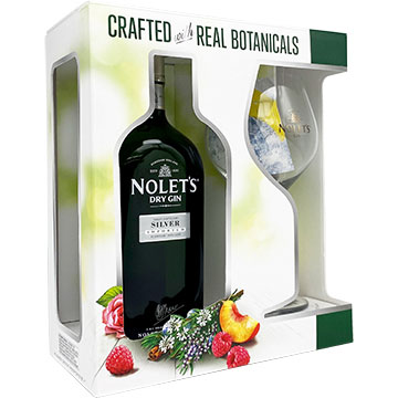 Nolet's Silver Gin Gift Set with Glass