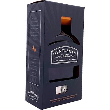 Jack Daniel's Gentleman Jack Whiskey Gift Set with Money Clip