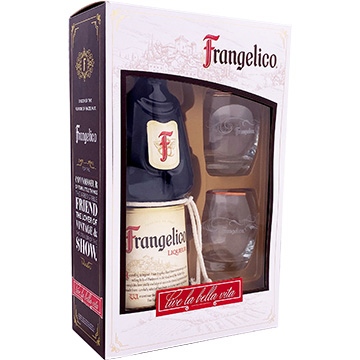 Frangelico Liqueur Gift Set with 2 Glasses