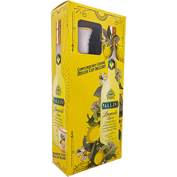 Pallini Limoncello Liqueur Gift Set with Ceramic Deruta Cup