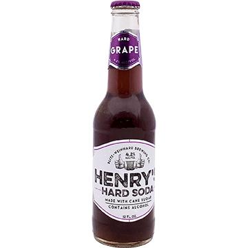 Henry's Hard Soda Grape