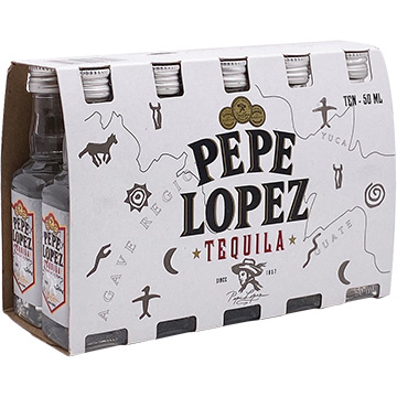 Pepe Lopez Silver Tequila