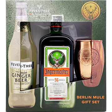 Jagermeister with Fever Tree Ginger Beer & Mule Mug