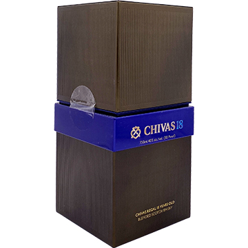 Chivas Regal 18 Year Old Blended Scotch Whiskey with Box