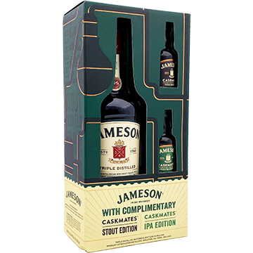 Jameson Irish Whiskey Gift Set with Two 50ml Caskmates